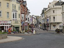 Seaton town centre, Devon © Tony Atkin